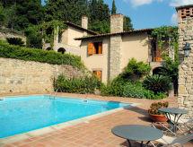 Borgo Maisale mit Waschmaschine und Pool