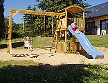 Type D Havuzlu ve Park yeri ile