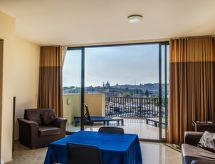 Sliema-Gzira - Appartement 1 BDR Balcony Blubay no seaview