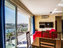 Sliema-Gzira - Appartamento 2 BDR Sea View Blubay