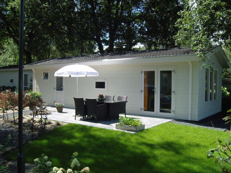 Casa de vacaciones DroomPark Spaarnwoude con ducha y cuna