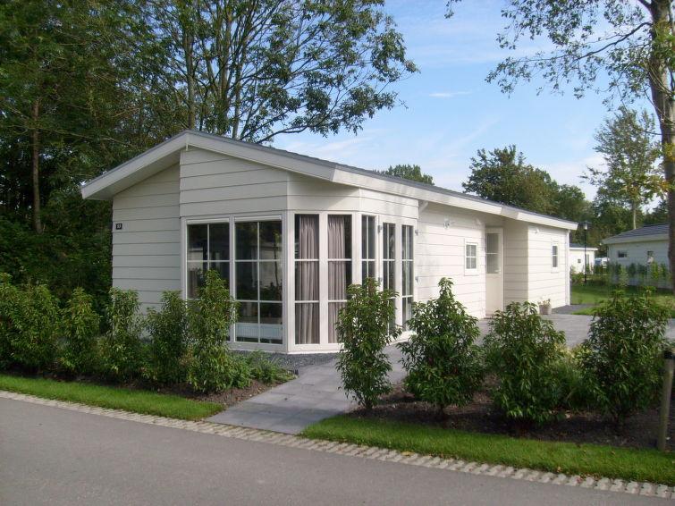 Casa de vacaciones DroomPark Spaarnwoude con jardín y wlan
