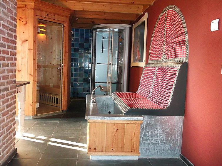 Sauna villa (6p) op recreatiepark Wiringherlant aan de waddenzee in Noord-Holland (I-102)