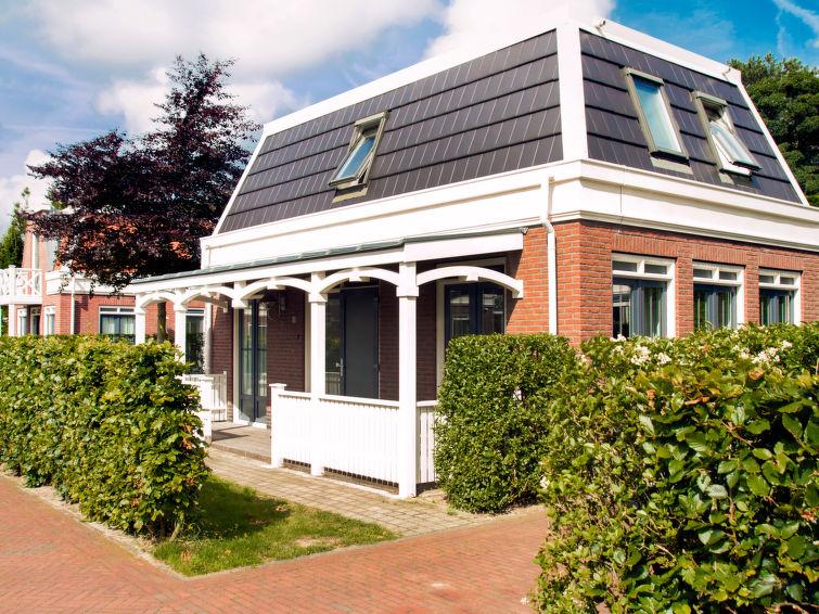 Vakantiehuis (6p) aan zee en strand op bungalowpark Tulp en Zee in Noordwijk (I-8)