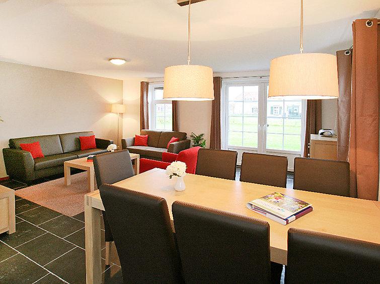 Villa (7p) met sauna en whirlpool op Buitenhof De Leistert met subtropisch zwembad in Limburg (NL6088.300.1)