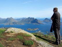 ågøy para el senderismo de las llanuras y caminata nórdica