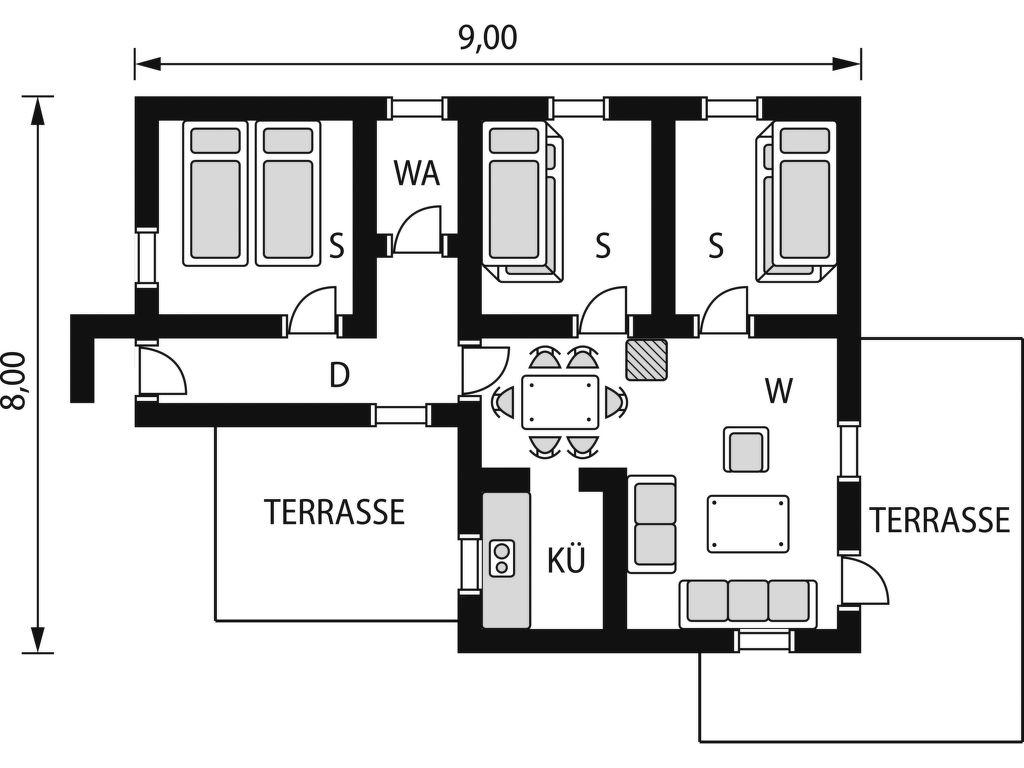 Ferienhaus Kleivvann (SOW039) (1997863), Lyngdal, Agder West, Südnorwegen, Norwegen, Bild 2
