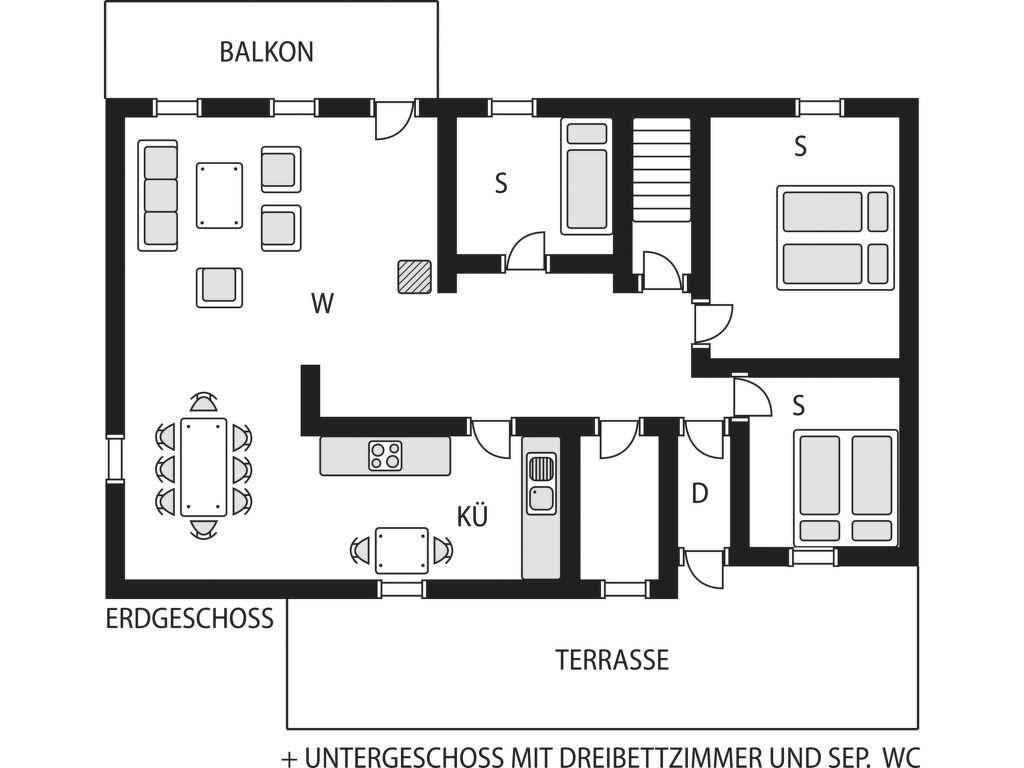 Ferienhaus Trollevika (FJS554) Ferienhaus