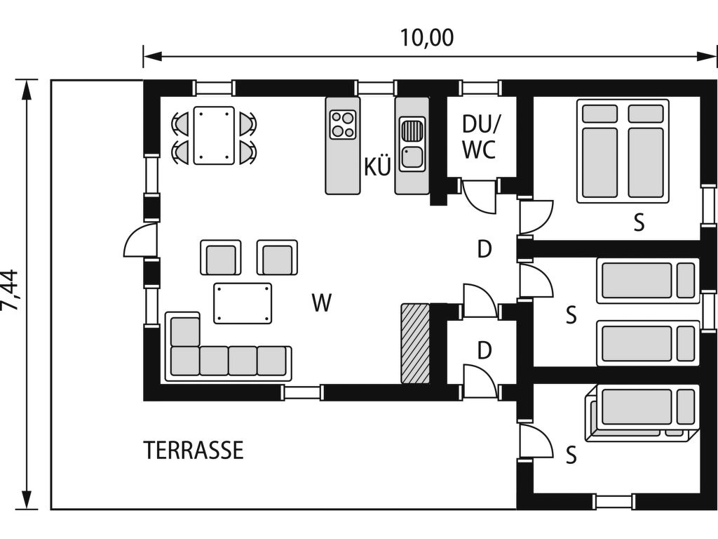 Ferienhaus Fjellro (FJS103) (2649007), Haukedalen, Sognefjord - Nordfjord, Westnorwegen, Norwegen, Bild 17
