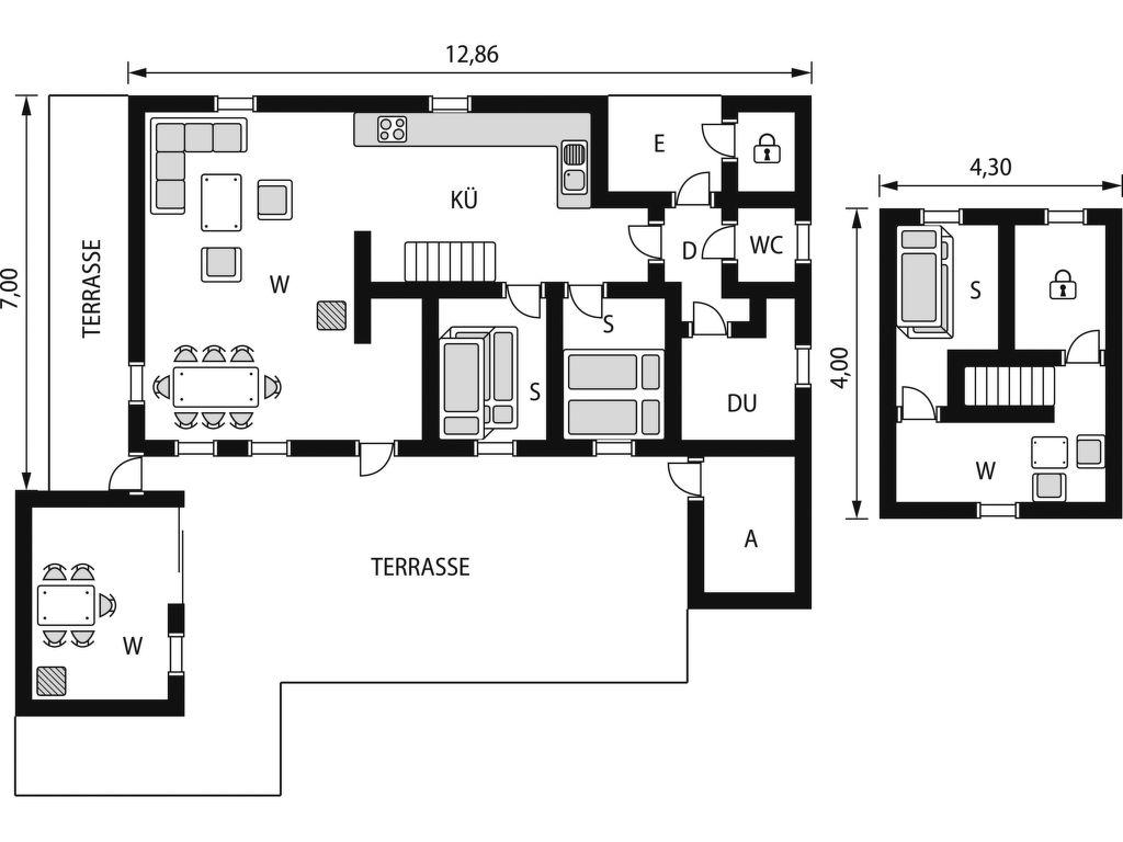 Ferienhaus Kennethbu (SOW059) (1931390), Åseral, Agder West, Südnorwegen, Norwegen, Bild 2