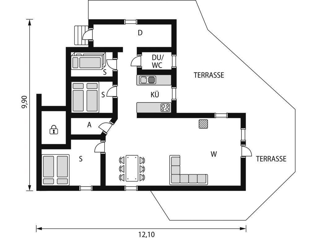 Ferienhaus Sessabu (SOW074) (2648521), Åseral, Agder West, Südnorwegen, Norwegen, Bild 2