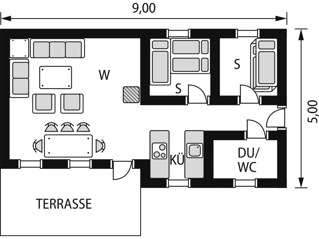 Ferienhaus Ellingbu (SOW091) (2648527), Åseral, Agder West, Südnorwegen, Norwegen, Bild 2