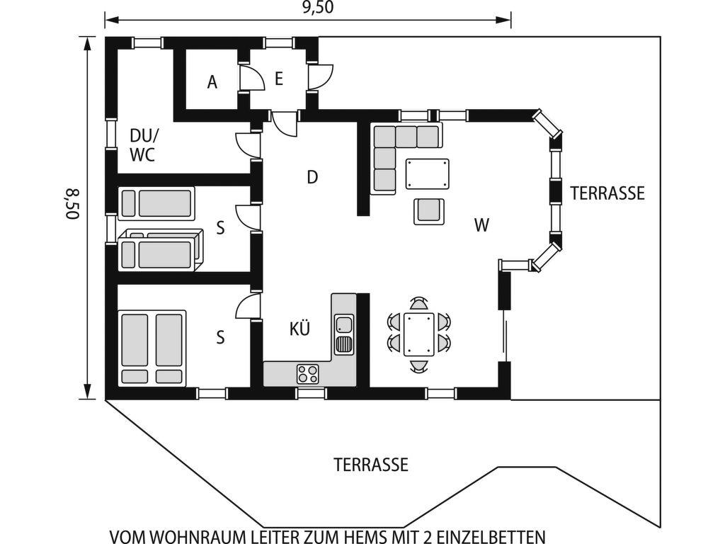 Ferienhaus Karlbu (SOW098) (114011), Ljosland, Agder West, Südnorwegen, Norwegen, Bild 2