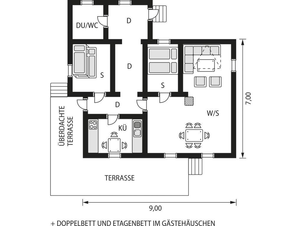 Ferienhaus Öydnavann (SOW742) (2648534), Konsmo, Agder West, Südnorwegen, Norwegen, Bild 2