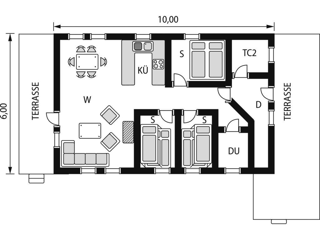 Ferienhaus Grethebu (SOO348) (2648535), Moi, Agder Ost, Südnorwegen, Norwegen, Bild 2