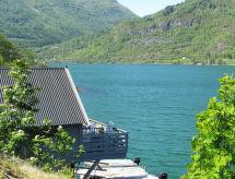 Sognefjord, Nordfjord, Sunnfjord - Ferienwohnung Ferienhaus mit Sauna (FJS764)