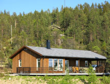 Sörland Ost - Ferienhaus See Oggevatn (SOO387)