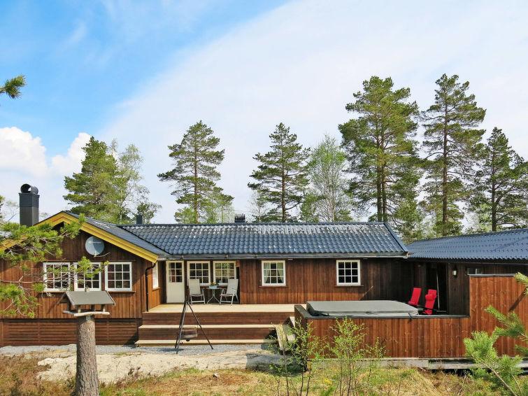 Ferienhaus mit Sauna (SOO353)