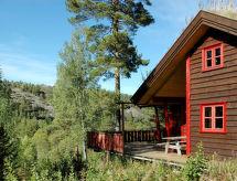 Treungen, Telemark - Maison de vacances Ferienhaus mit Sauna (TEM027)