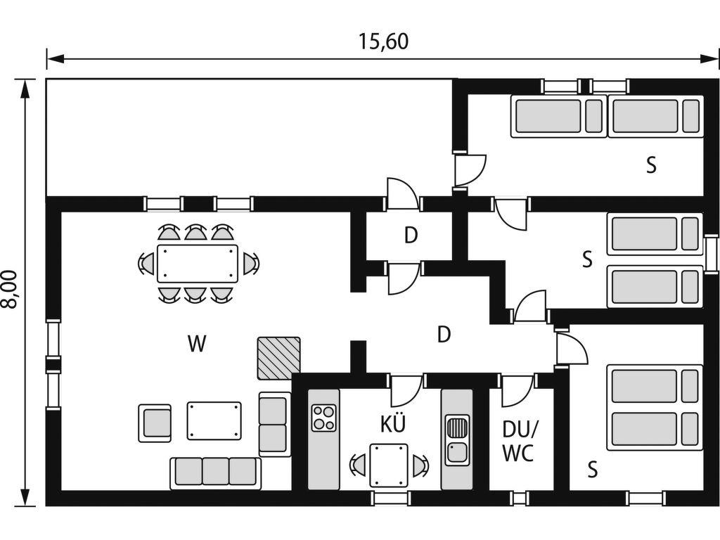 Ferienhaus Dalsnipen (TEM029) (2648544), Treungen, , Ostnorwegen, Norwegen, Bild 17
