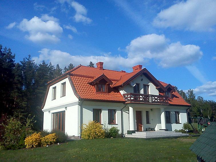 met je hond naar dit vakantiehuis in Jakunowko