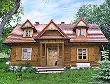 Męcina - Dom wakacyjny W Męcinie