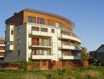 Helska VIlla mit Balkon und zum Segeln