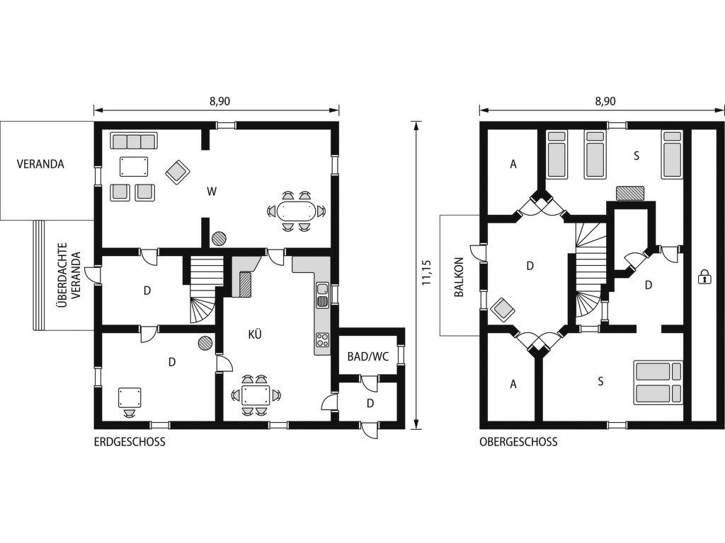 Ferienhaus Bartveten (VMD145) (2648588), Årjäng, Värmlands län, Mittelschweden, Schweden, Bild 2