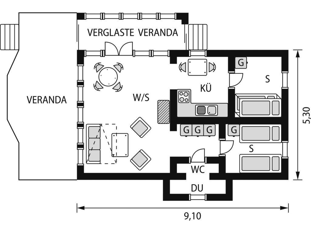 Ferienhaus Ulseröd (BOH221) (114857), Hällevadsholm, Västra Götaland län, Westschweden, Schweden, Bild 16