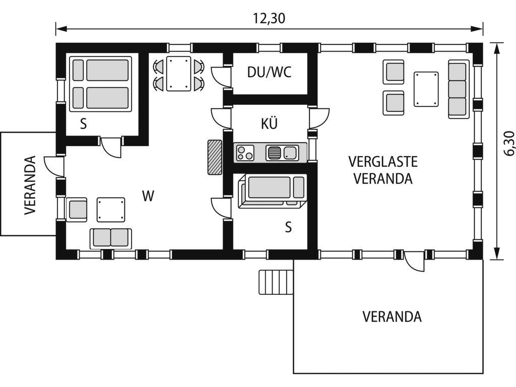 Ferienhaus Kjuga Gula Huset (SKO0369) Ferienhaus in Schweden