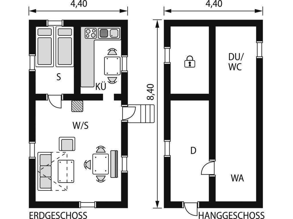 Ferienhaus Bunn Lappland (SND116) (322381), Gränna, Jönköpings län, Südschweden, Schweden, Bild 2