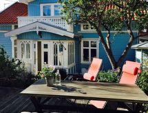 älleviksstrand für Nordic-Walking und mit Garten