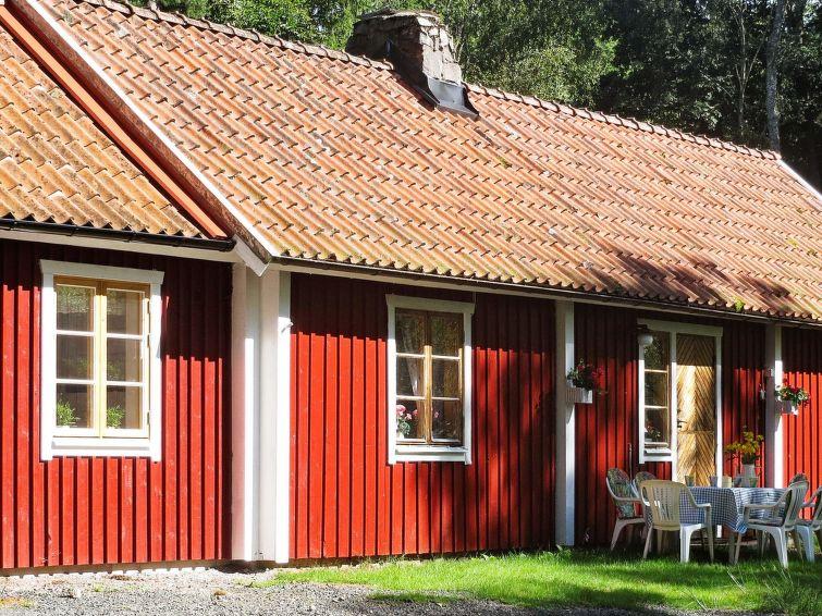 Casa de vacaciones Ljungbyhed para caminata nórdica y restaurante cercano