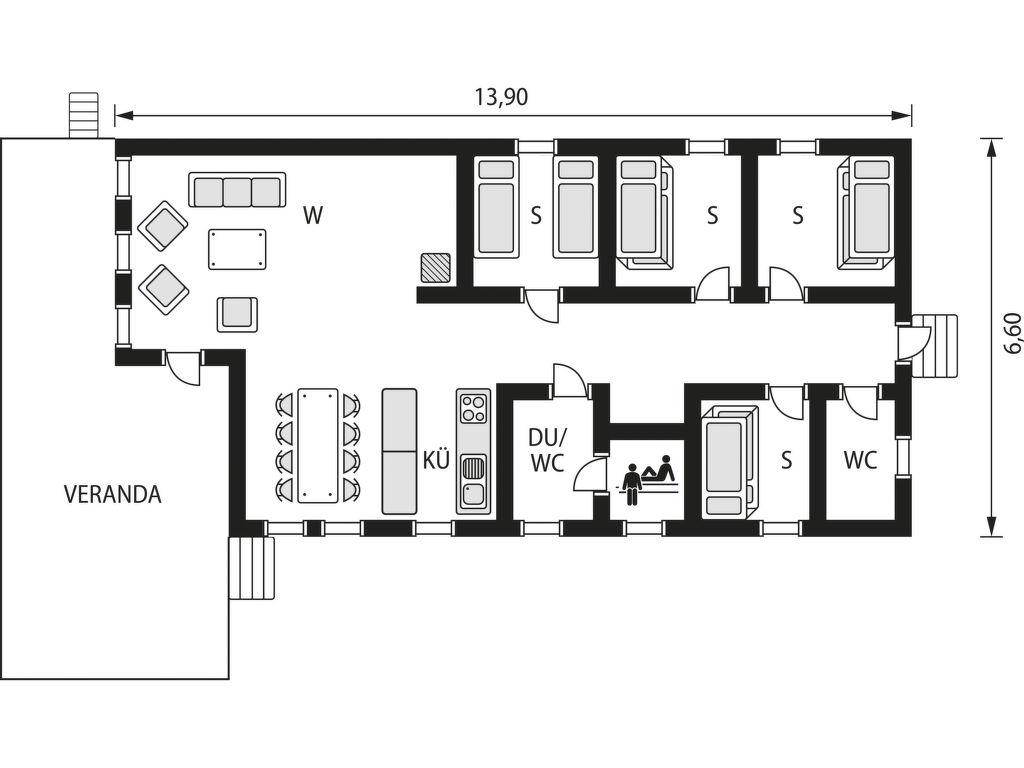 Ferienhaus Lofsdalen Furan (HJD051) (2649053), Lofsdalen, Jämtlands län, Nordschweden, Schweden, Bild 21