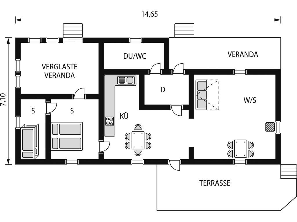 Ferienhaus Gissarp Gryningen (SND140) (107612), Nässjö, Jönköpings län, Südschweden, Schweden, Bild 2