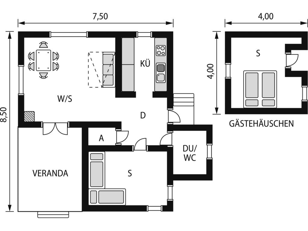 Ferienhaus Öja (HAL054) (2649055), Oskarström, Hallands län, Südschweden, Schweden, Bild 2