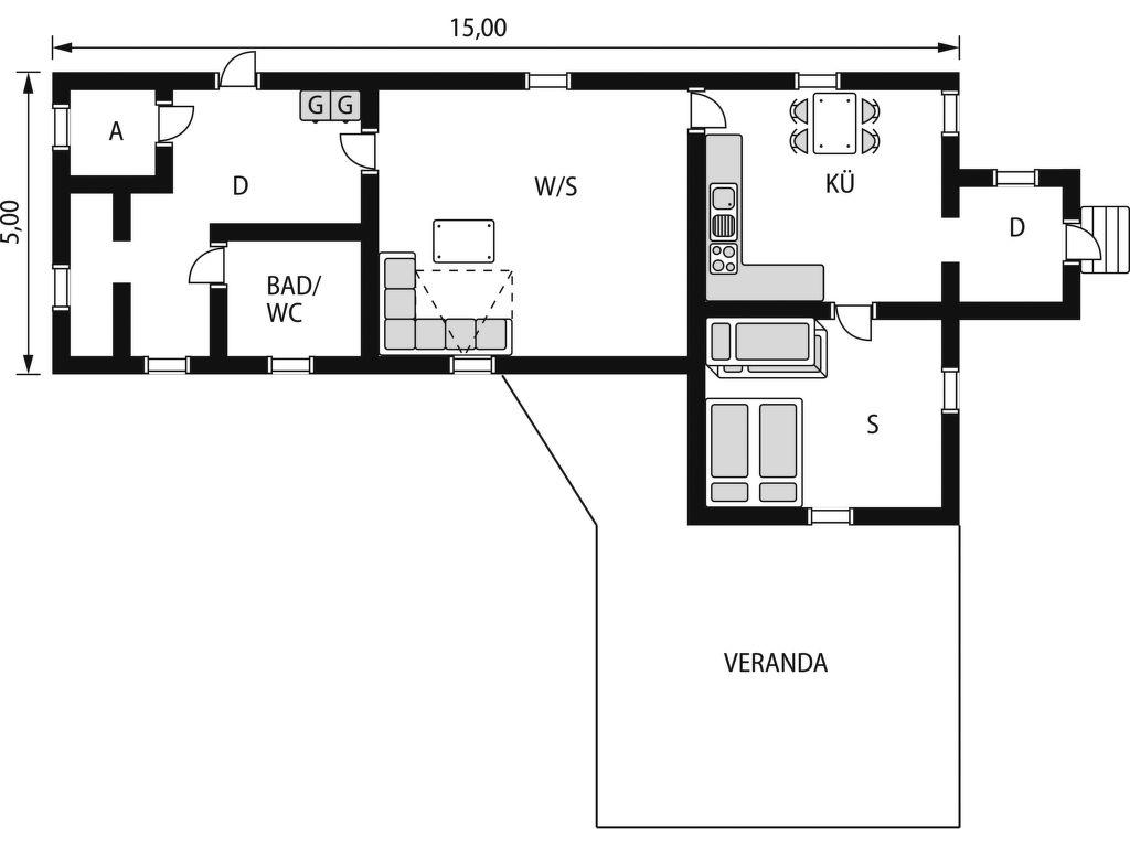 Ferienhaus Rönninge by (STH280) (2648557), Täby, Region Stockholm, Mittelschweden, Schweden, Bild 2