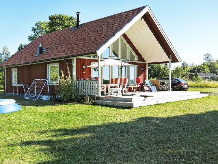 Ferie hjem äddö med have og opvaskemaskine