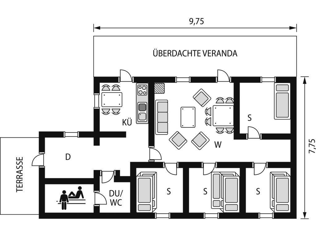Ferienhaus Kilberget (HJD027) (2649058), Vemdalen, Jämtlands län, Nordschweden, Schweden, Bild 2