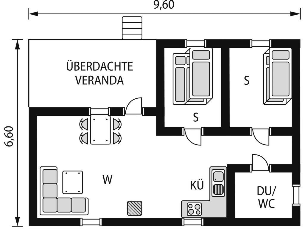 Ferienhaus Vemhån Östholmen (HJD061) (2649060), Vemhån, Jämtlands län, Nordschweden, Schweden, Bild 2