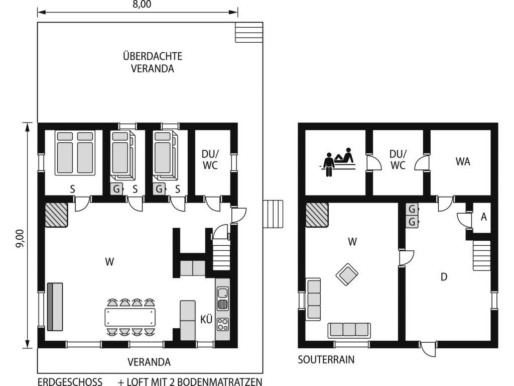 Ferienhaus Kvisthån Tallen (HJD 058) (2690525), Vemhån, Jämtlands län, Nordschweden, Schweden, Bild 15