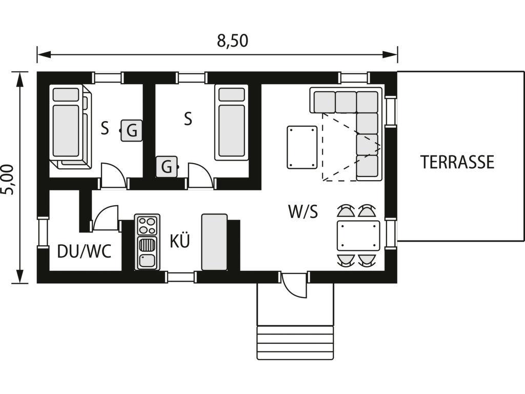 Ferienhaus Sanden (OST132) (2690530), Sankt Anna, Östergötlands län, Südschweden, Schweden, Bild 8