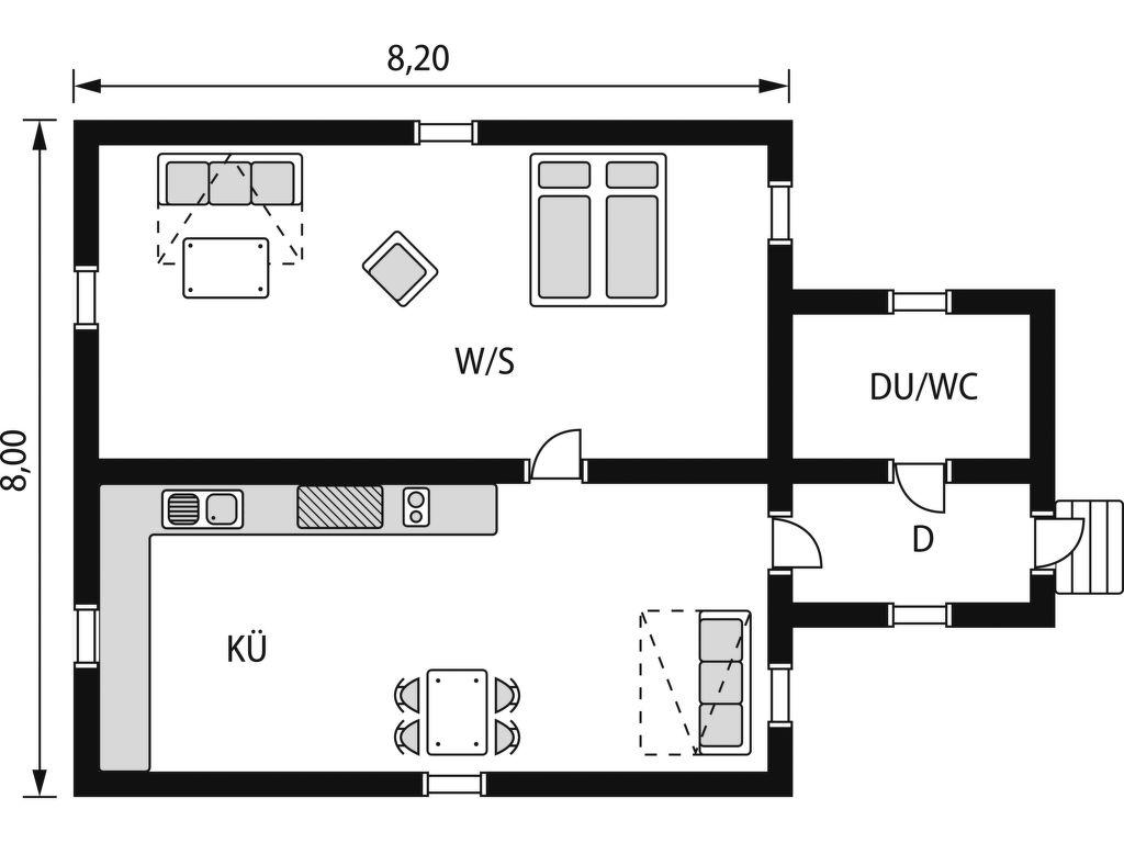 Ferienhaus Kumbelnäs (DAN100) (2648908), Våmhus, Dalarnas län, Mittelschweden, Schweden, Bild 12