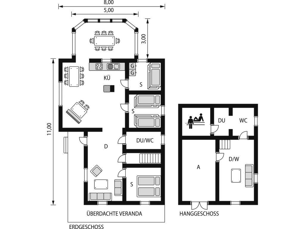 Ferienhaus Fjällnäs (HJD025) Ferienhaus in Schweden