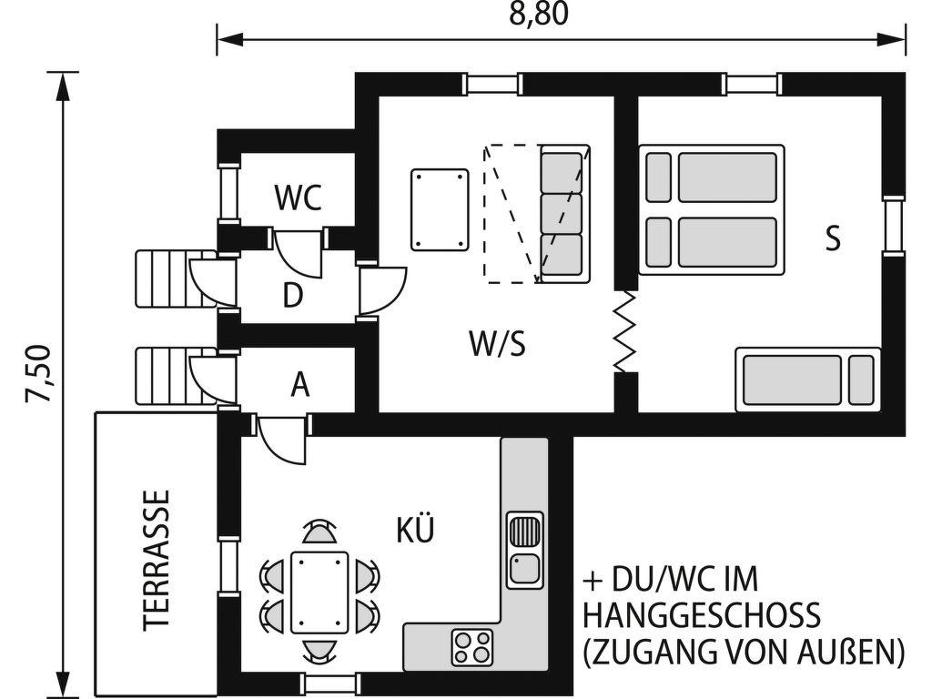Ferienhaus Froarp (BLE103) (110157), Asarum, Blekinge län, Südschweden, Schweden, Bild 14
