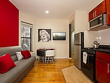 New York/Manhattan - Lejlighed East Village: 2 Bed