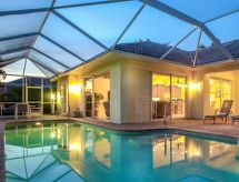 Cape Coral - Ferienhaus Villa Blue Lagoon