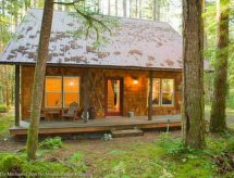 Mount Baker/Glacier - Ferienhaus 12GS Cabin w/sweet covered porch!