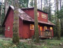 Mount Baker/Glacier - Dom wakacyjny 12GS Cabin w/sweet covered porch!