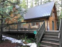 Mount Baker/Glacier - Vakantiehuis 8MBR-Classic Log Cabin, Sleeps 8!
